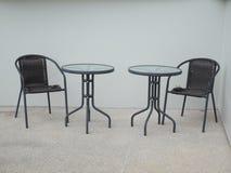 Två tabeller Fotografering för Bildbyråer