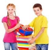 Två tonåriga personer. Fotografering för Bildbyråer