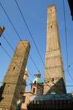 Två torn Royaltyfria Bilder