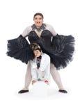 Två transvestit som tillsammans utför Royaltyfri Fotografi