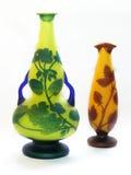 två vases Arkivfoton