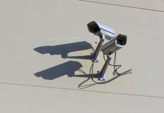 två videocameras Arkivbilder