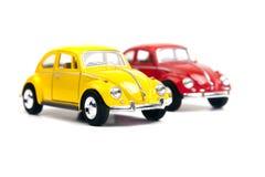 Två Volkswagen Beetle Arkivfoton