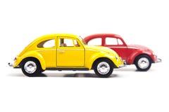 Två Volkswagen Beetle Royaltyfri Foto