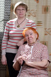 två womans Royaltyfri Foto