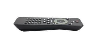 TV à télécommande sur le fond blanc Photographie stock