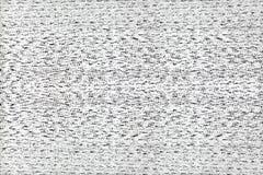 Tv śnieg Zdjęcie Stock
