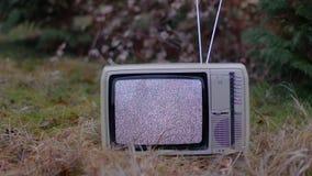 TV żadny sygnał w trawie zdjęcie wideo
