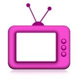 TV αναδρομική Στοκ φωτογραφία με δικαίωμα ελεύθερης χρήσης