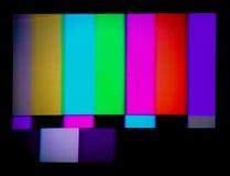 TV δοκιμής σημάτων Στοκ Εικόνα