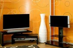 TV δύο Στοκ Φωτογραφία