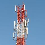 TV ιστών πύργων τηλεπικοινωνιών Στοκ φωτογραφία με δικαίωμα ελεύθερης χρήσης
