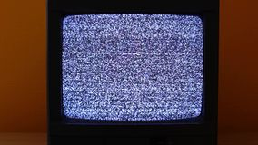 TV κανένα σήμα απόθεμα βίντεο