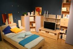 TV κρεβατοκάμαρων Στοκ Εικόνες