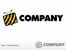 TV μελισσών Στοκ φωτογραφίες με δικαίωμα ελεύθερης χρήσης