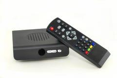 TV μετατροπέων κιβωτίων Στοκ Εικόνα