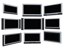 TV οθονών Στοκ Εικόνα