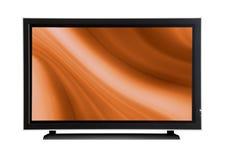TV πλάσματος LCD Στοκ Εικόνες