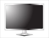 TV πλάσματος LCD Στοκ εικόνες με δικαίωμα ελεύθερης χρήσης
