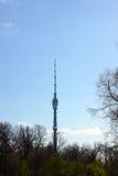 TV πύργων της Ρωσίας ostankino της Μόσχας Στοκ φωτογραφίες με δικαίωμα ελεύθερης χρήσης