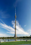 TV πύργων ostankino Στοκ φωτογραφίες με δικαίωμα ελεύθερης χρήσης