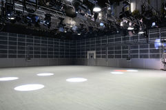 TV στούντιο φωτισμού Στοκ Εικόνες