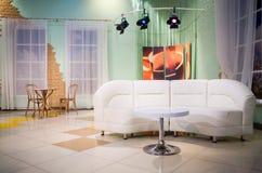 TV στούντιο Στοκ εικόνα με δικαίωμα ελεύθερης χρήσης