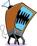 TV τεράτων ελεύθερη απεικόνιση δικαιώματος
