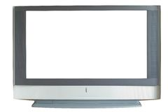 TV της μεγάλης οθόνης Στοκ Εικόνες