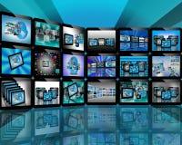 TV на интернете Стоковая Фотография RF