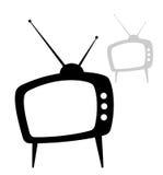 TV. 2 var. TV for logotype using Royalty Free Stock Photo