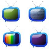 TV. Nice cartoon TV set , isolated Stock Photo