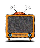 TV vector illustratie