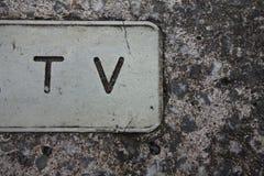 TV Fotografia Royalty Free