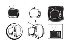 TV Image libre de droits