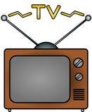 TV. An illustration of a television Vector Illustration