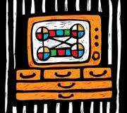 TV illustrazione di stock