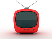 TV abstract  (front) Stock Images
