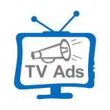 TV Ads Royalty Free Stock Images