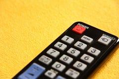 TV-afstandsbediening Royalty-vrije Stock Afbeeldingen