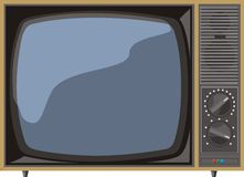 TV analogique Images stock