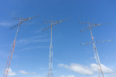 TV antena Obraz Stock