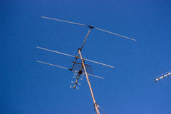 TV antena Obrazy Royalty Free