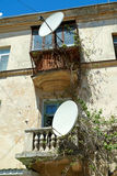 Tv antena satelitarna Zdjęcia Royalty Free