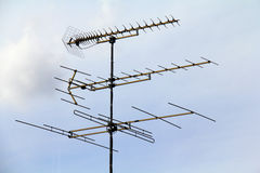 TV antenna Royalty Free Stock Photo