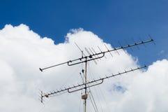 TV-antenna Fotografie Stock Libere da Diritti