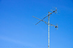 TV Antenna (aerial) Royalty Free Stock Image