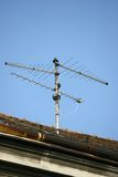 TV antenna aerial Royalty Free Stock Photo