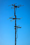 TV antenna Royalty Free Stock Photography