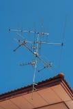 TV antenna. Royalty Free Stock Photos